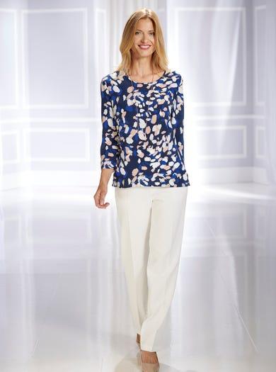 5351 - Deauville - Extrafijne zijden blouse