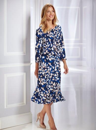 5356 - Deauville - Luxueuze zijden rok