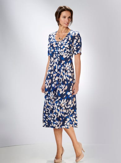 5357 - Deauville - Pure Silk Occasion Dress