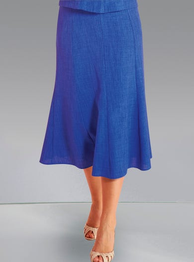 5803 - Cobalt Blue - Uncrushable Skirt