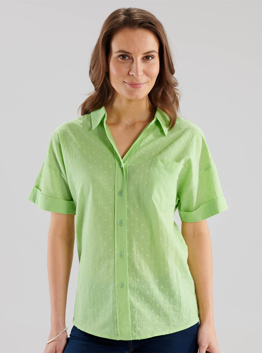 Bright cotton shirt