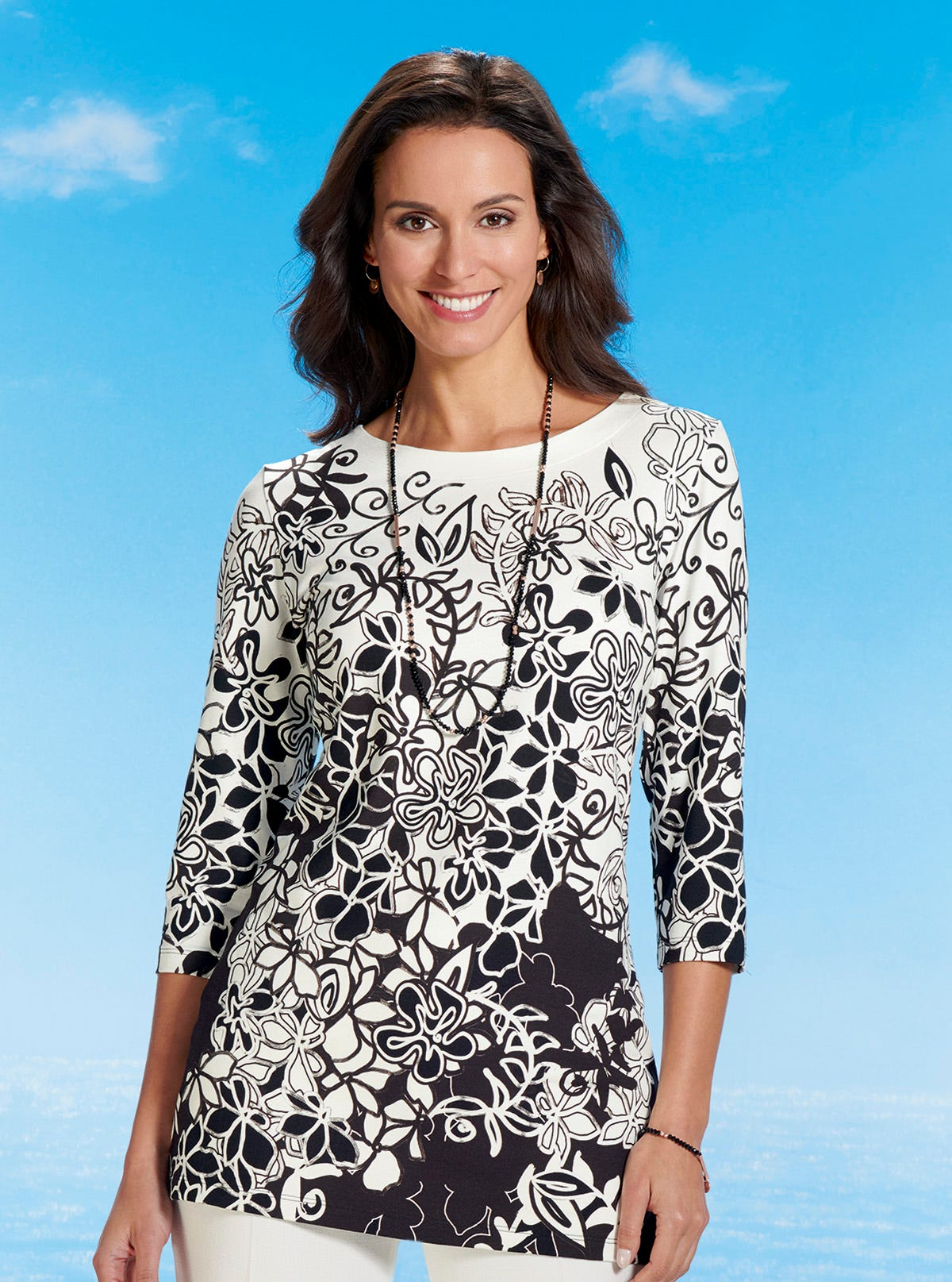 99c307fe8b Fine Art Tunic - Travel Collection - Travel