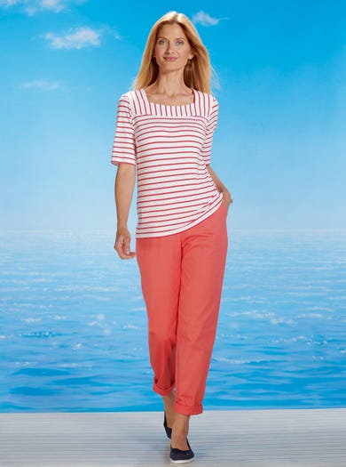 6429 - Mango - Easy Stretch Trousers