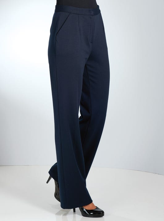 Comfortable Wide Leg Trousers