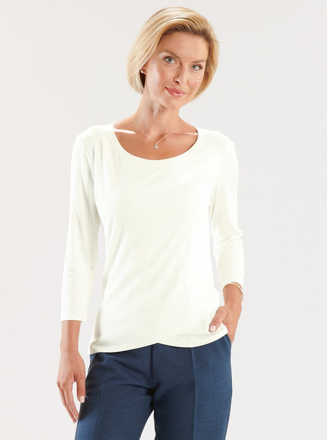 Supersoft Crossover Top