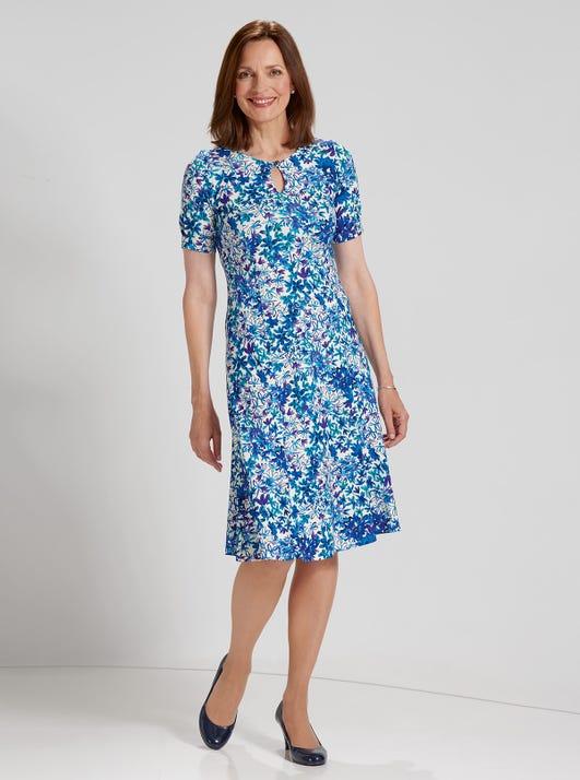 Schickes Kleid aus weichem Jersey