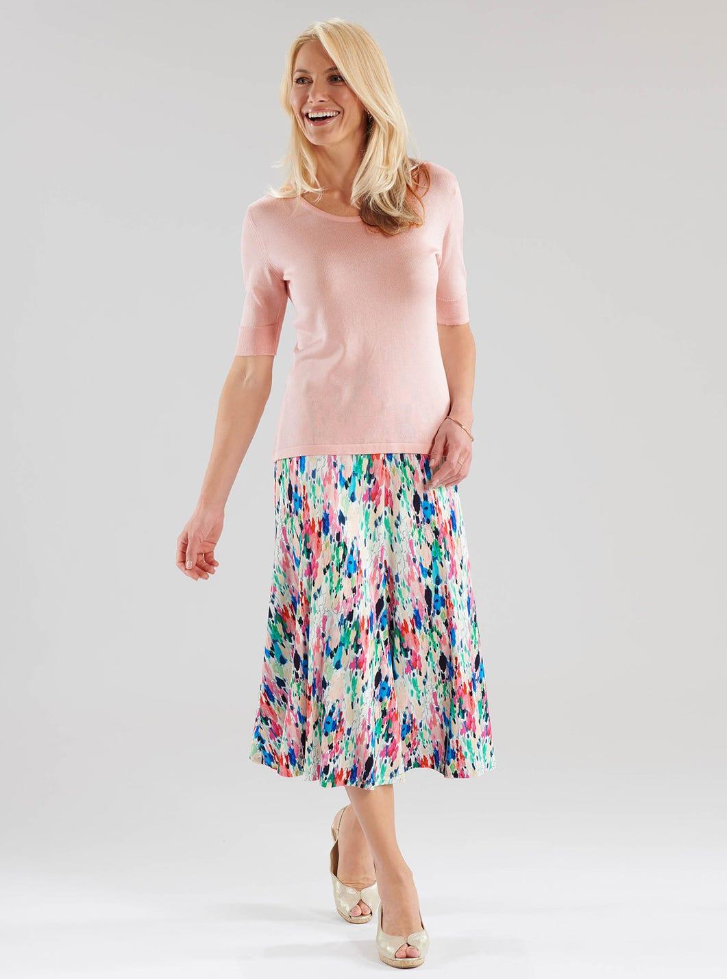 Modern Jersey Skirt