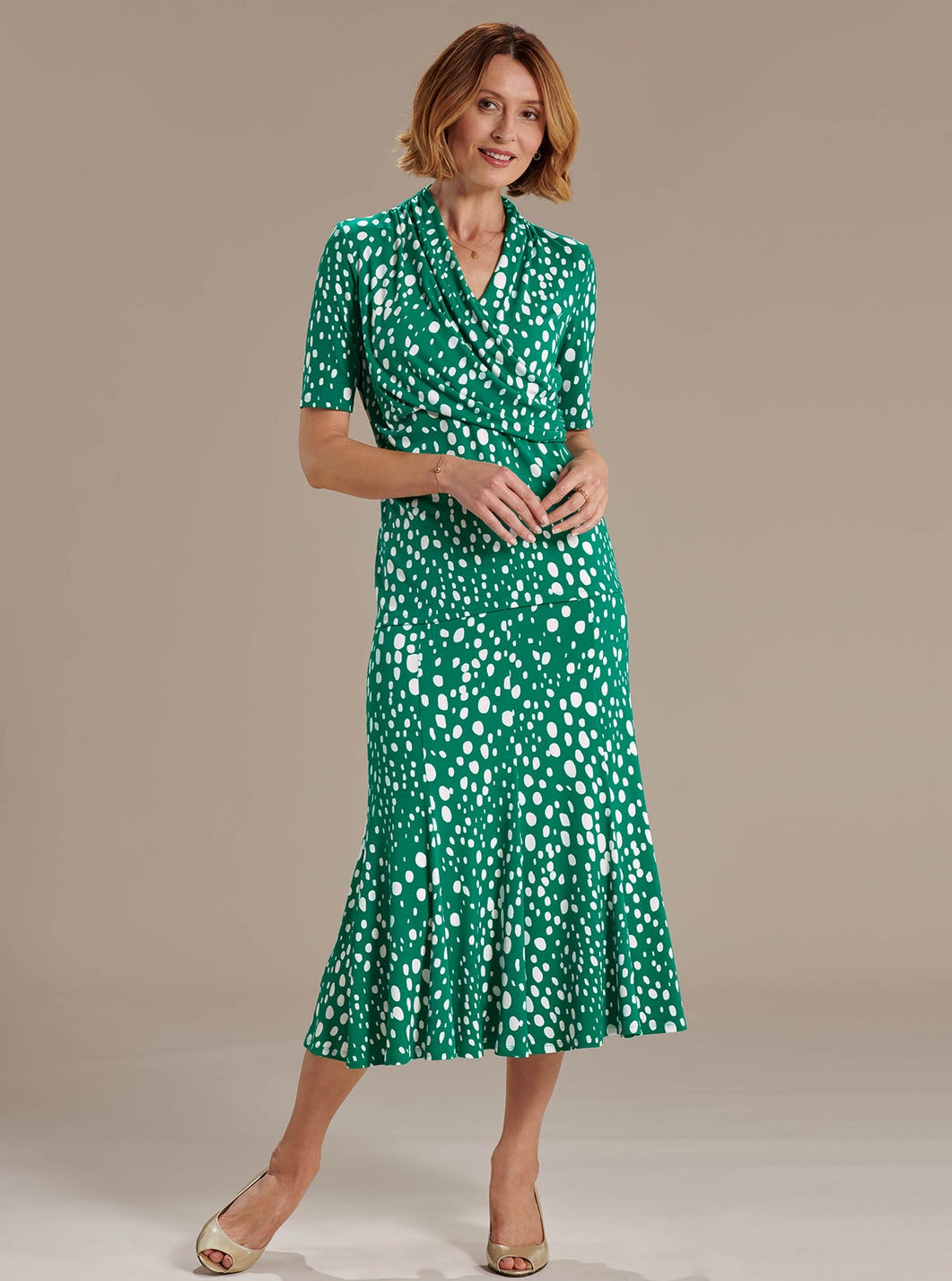 Emerald Spotted Skirt