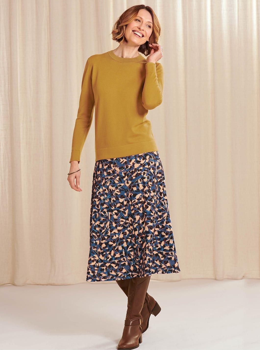 Contemporary Print Skirt