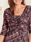 Cowl Neck Jersey Dress
