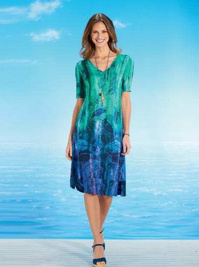 6993 - Paradise/Tropical - Unmissable Easy Dress
