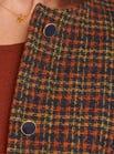 Cinnamon Check Wool Jacket