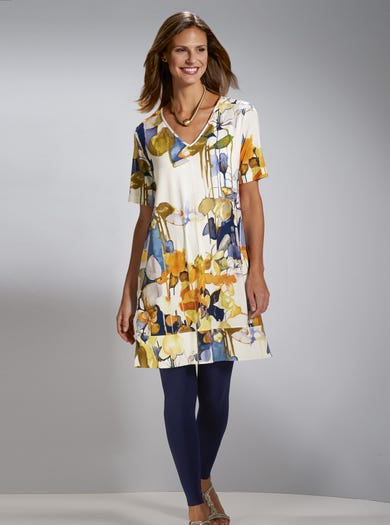 7221 - Reflections - Relaxed Jersey Dress