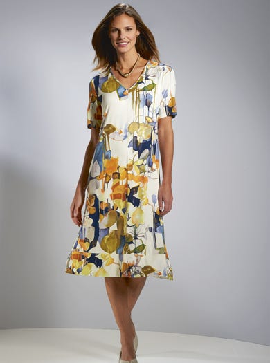 7223 - Reflections - Relaxed Jersey Dress