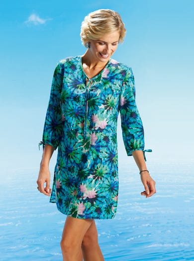 7282 - Waterlily - Featherlight Cotton Cover-up