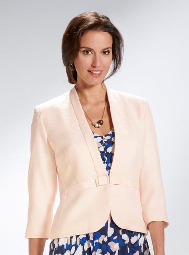 7435 - Shell Pink - Uncrushable Occasion Jacket