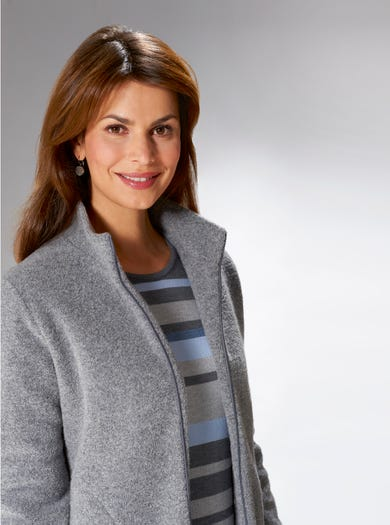 Warm Wool Fleece Jacket