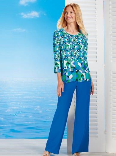 7551 - Mykonos - Pure Silk Tunic
