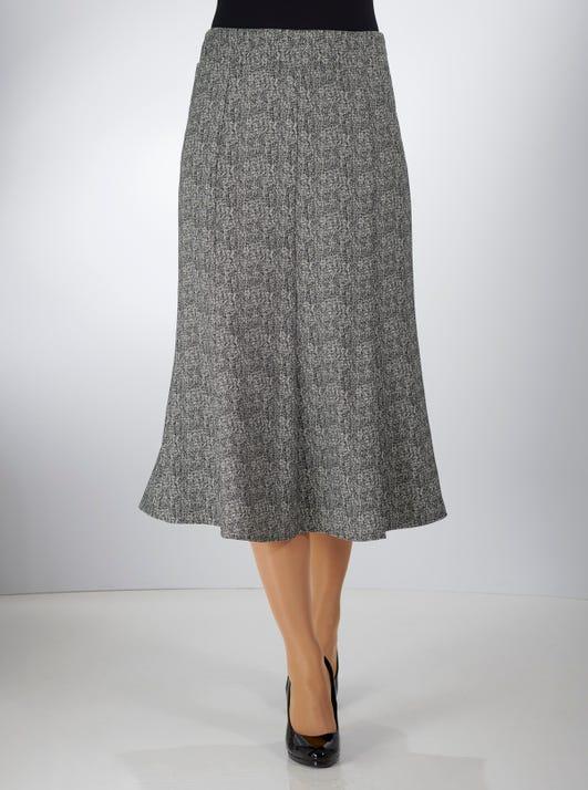 Uncrushable Herringbone Skirt
