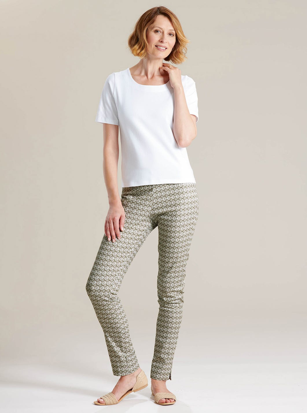 Contemporary Printed Trousers