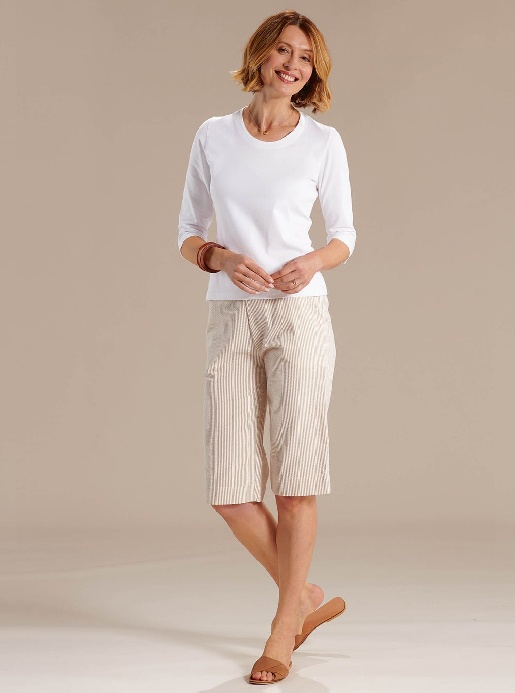 Striped Summer Shorts