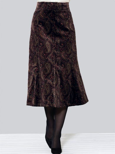 Luxury Velvet Skirt