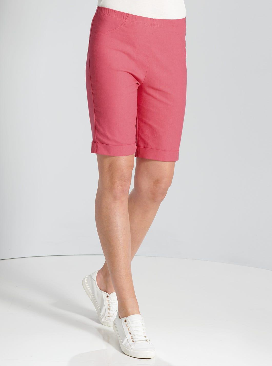 Denim-Shorts mit Stretch