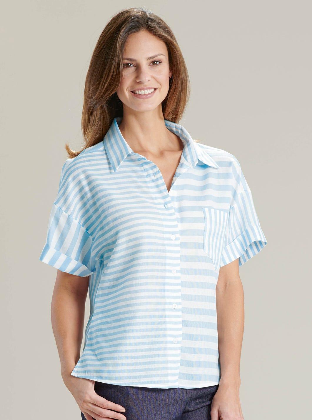 Cool Cotton and Linen Blend Shirt