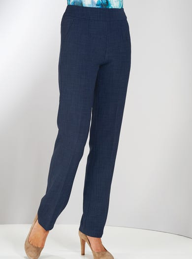 7829 - French Navy - Uncrushable Trousers