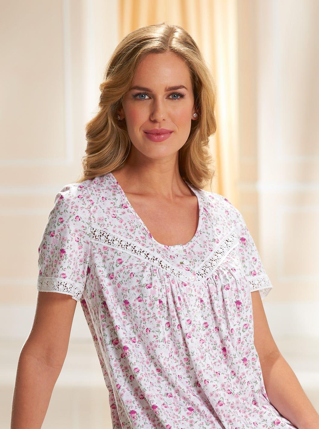 Soft Cotton Jersey Nightdress
