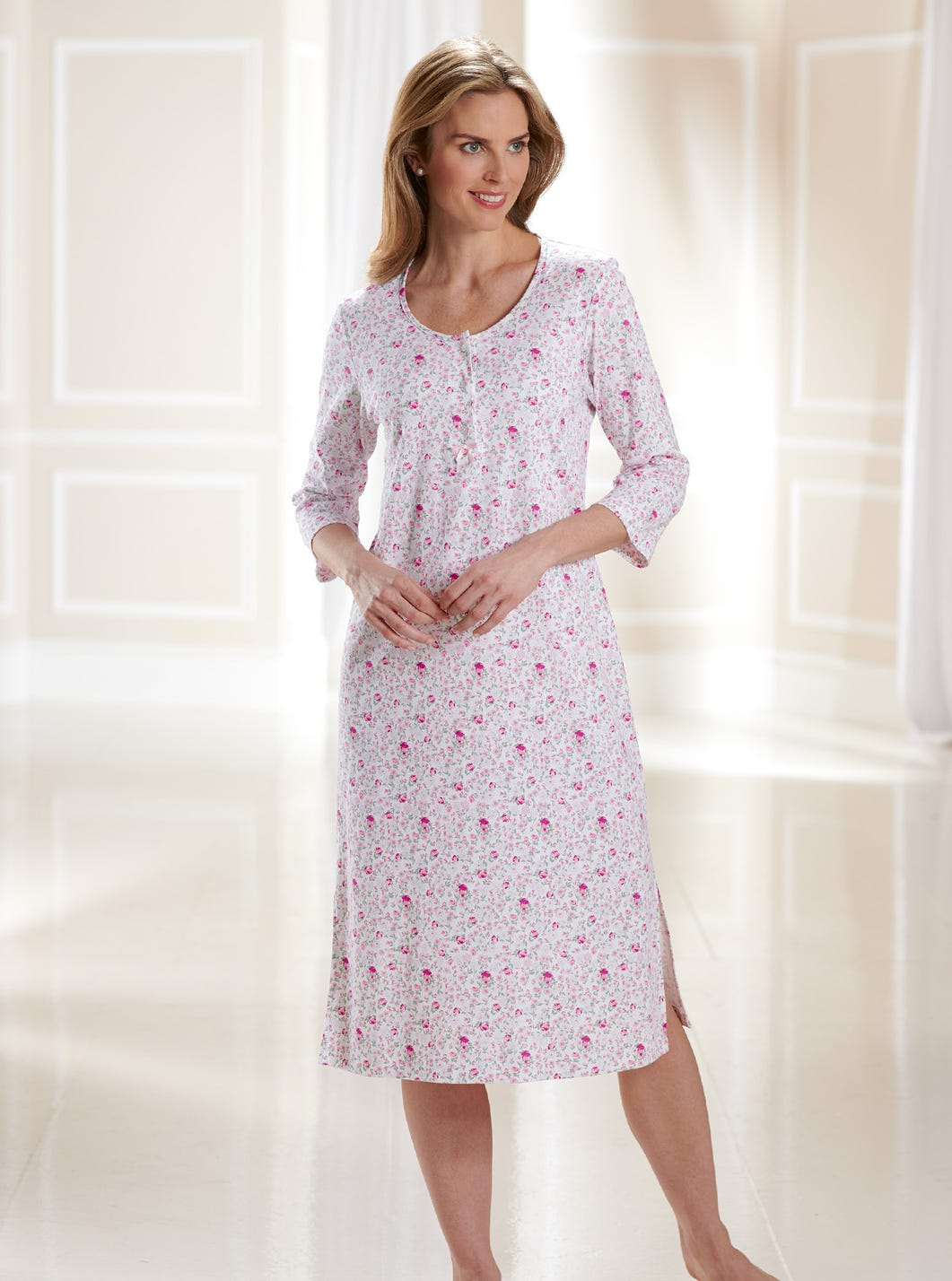 Comfy Cotton Jersey Nightshirt