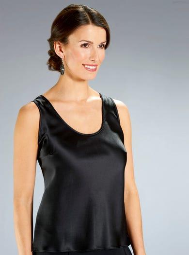 Pure Silk Vest