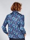 Luxueuze zuiver zijden blouse