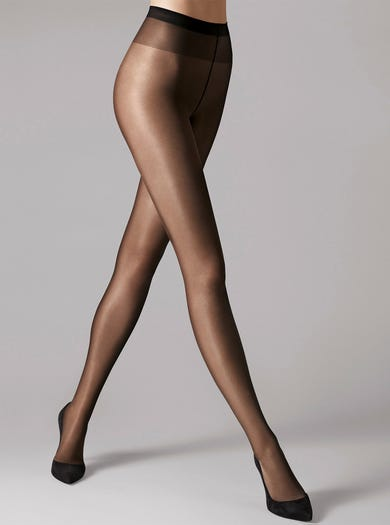 9055 - Zwart - Wolford Satin Touch 20 panty