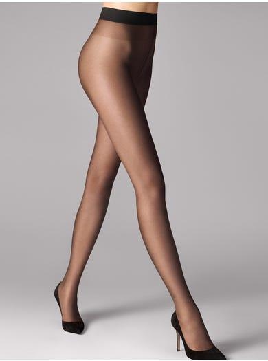 9085 - Zwart - Nude 8 Panty