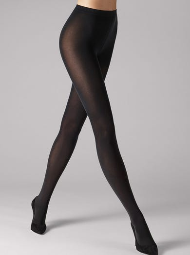 9090 - Zwart - Velvet 66 panty