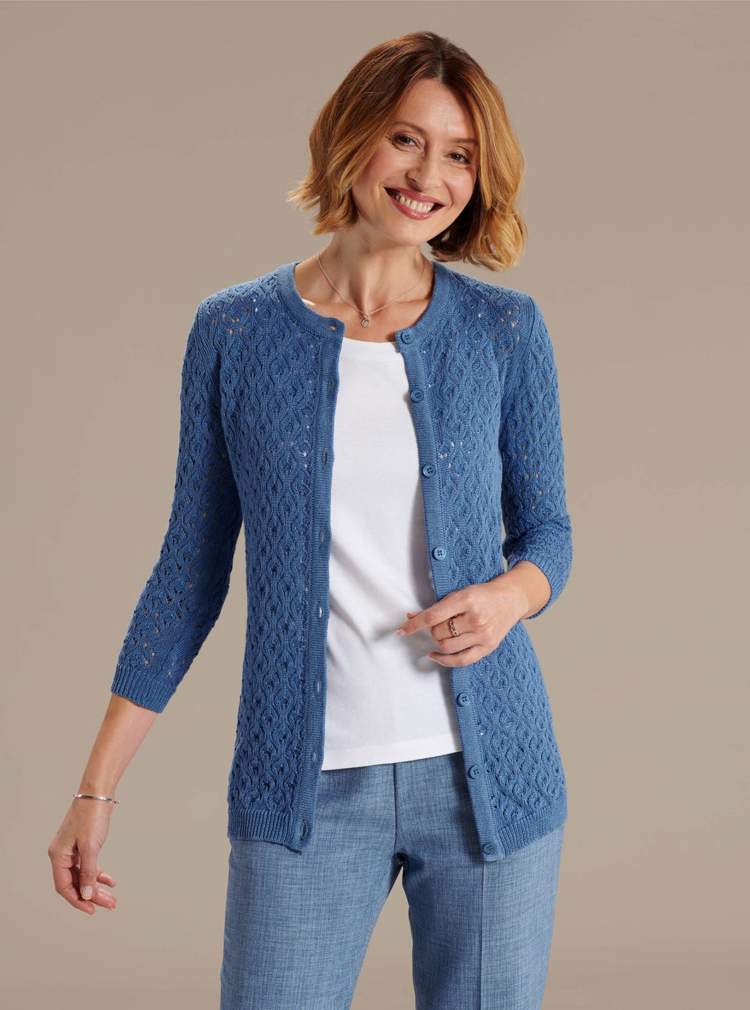Cotton and Linen Cardigan