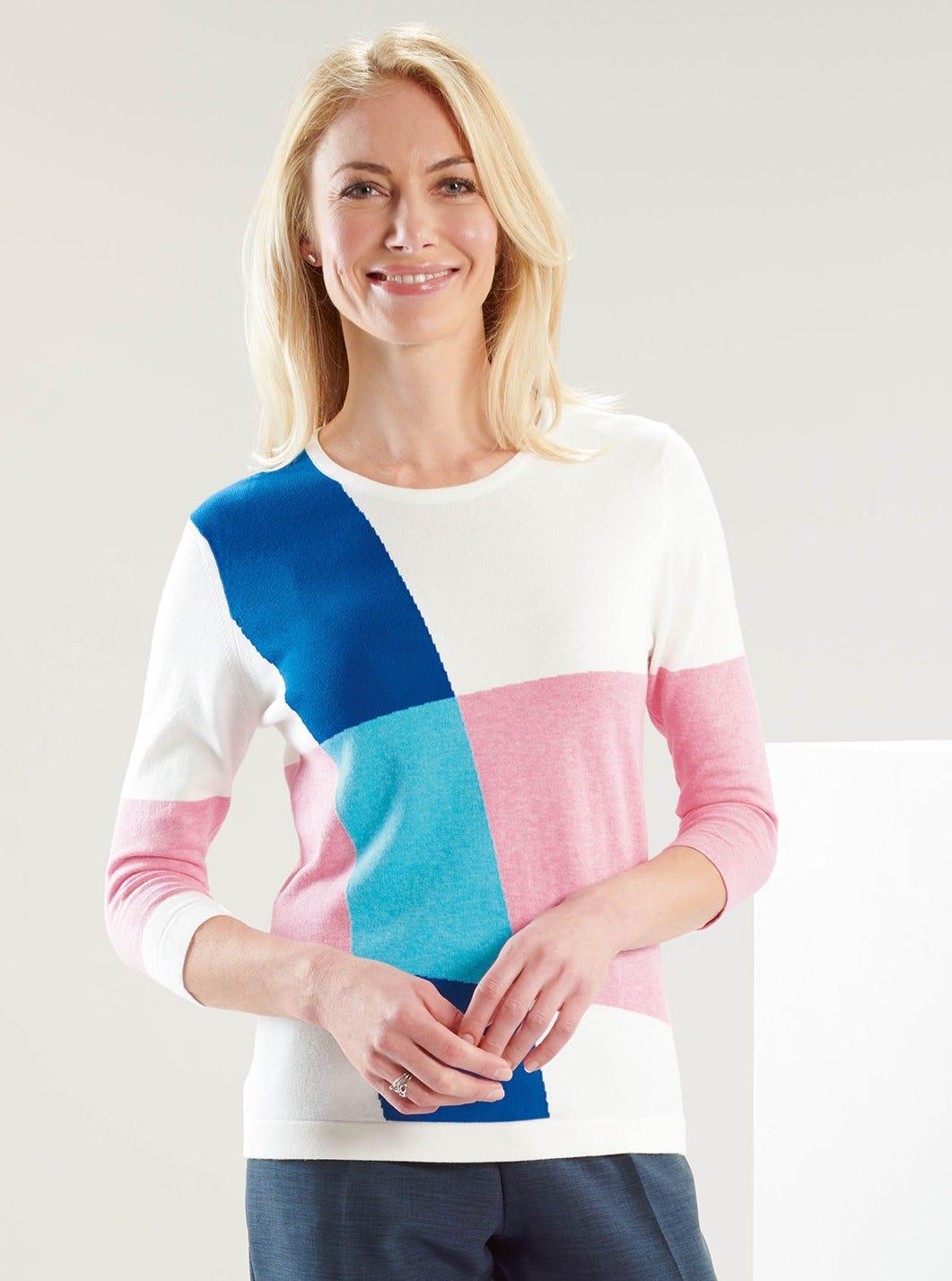 Contemporary Colourblock Jumper