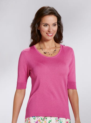 9170 - Rose - Silky Soft Jumper