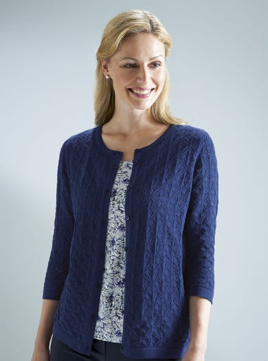Lacy Pure Cotton Cardy