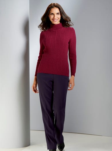 Silky Soft Lambswool Jumper