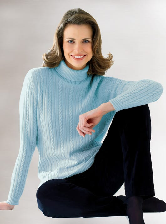Cable Rollneck Jumper
