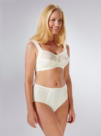 9205 - Ivory - Soft Strap Support Bra by Anita