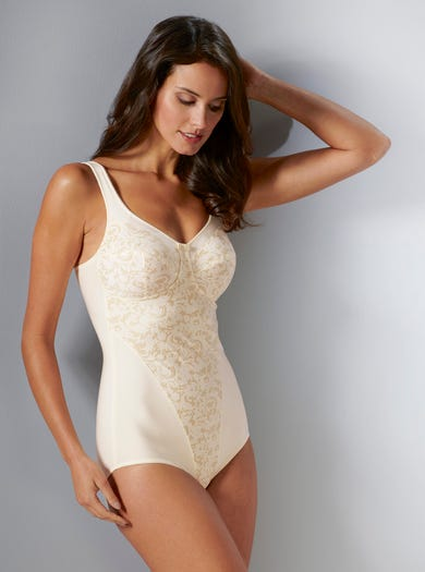 9216 - Ivory - Slimming Control Body by Anita
