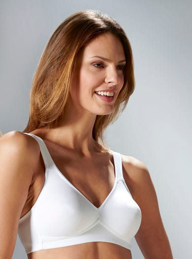 9248 - White - Non-wired Smooth Bra by Anita