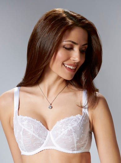 Richly Embroidered Bra by Aubade