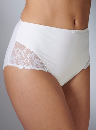 9281 - White - Luxury Sculpting Briefs by Aubade