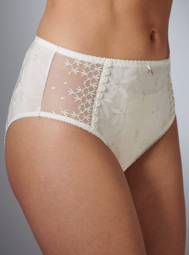 9323 - Ivory - Luxury Full Briefs by Empreinte
