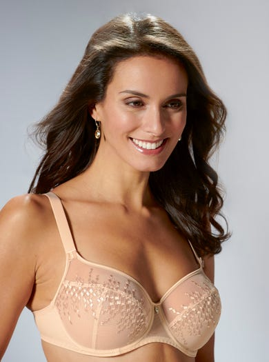 9368 - Oyster - Soft Embroidered Bra by Empreinte