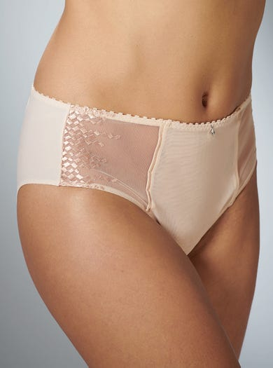 9369 - Oyster - Embroidered Full Briefs by Empreinte